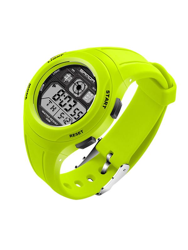 Fashion SANDA Brand Unsex Sports Watches Men LED Digita