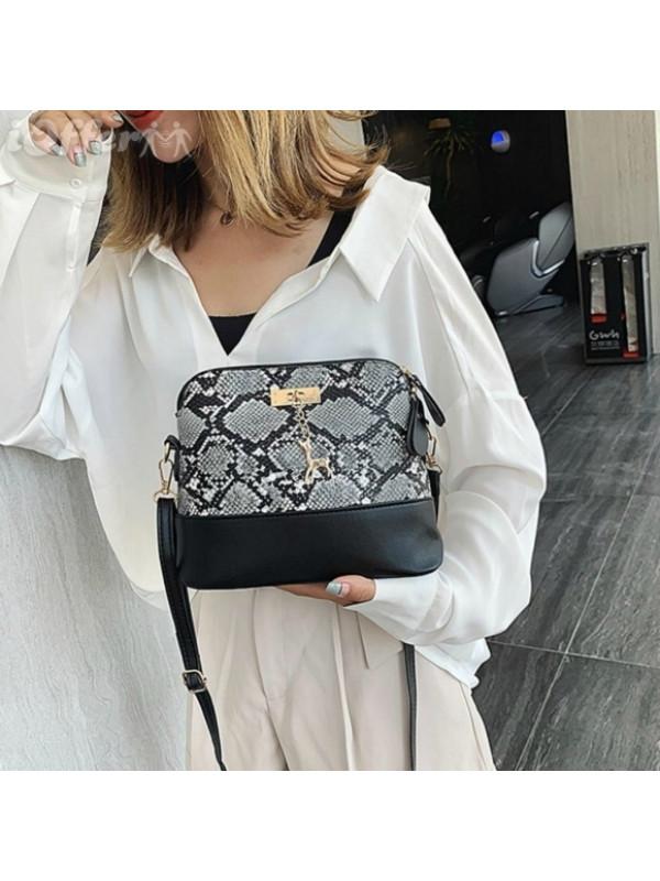 Quality PU Leather Shoulder Clutch Womens Handbag Girl